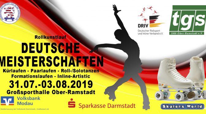 Deutsche Meisterschaften im Rollkunstlauf in Ober-Ramstadt – Weltmeister am Start